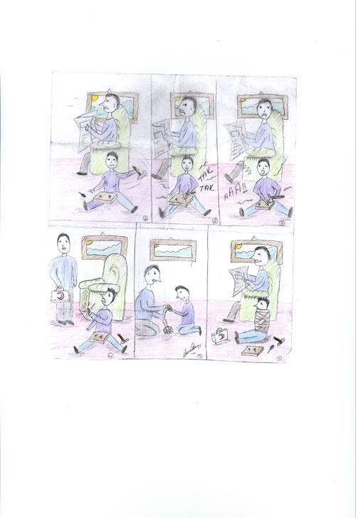 Semra ÇAM'ın Karikatürü
