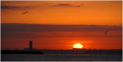 Batıyorken Güneş Ufuktan..........!