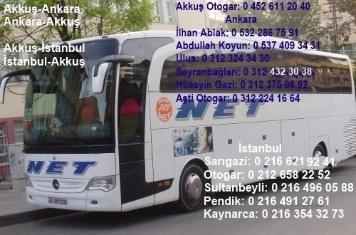 Net Turizm 15 Eylül'den Sonra Her Gün Ankara-Akkuş Arasında Otobüs Seferleri İle Hız Kesmeden Hizmet Etmeye Devam Edecek
