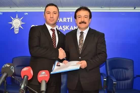 Ünye Eski B.Başkanı Ahmet Arpacıoğlu Milletvekili aday adaylığına baş vurdu