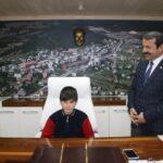 Başkan Demirci Görevi Devretti