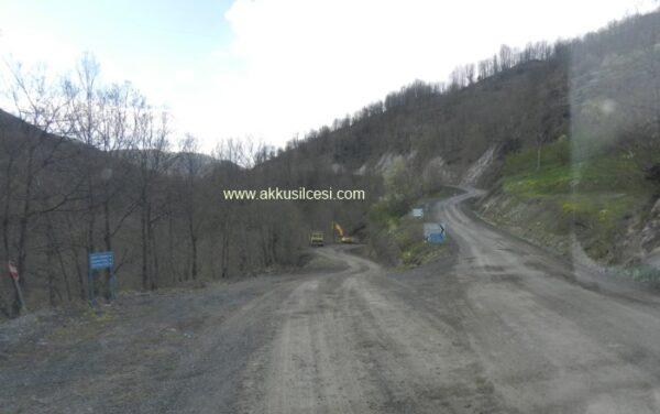 İ.ÇAM Sordu Ordu B.Şehir Akkuş'a Atılacak Asfalt Miktarını Açıkladı