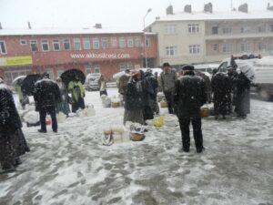 4 Nisan 2015 Günü Akkuş'tan Kar Yağışı Manzaraları