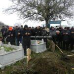 Kuşçulu'ya Giden Cenaze Kar Yağışı İle Toprağa Verildi