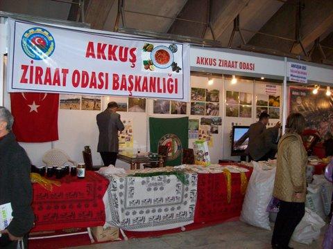 Akkuş Ziraat Odası; İstanbul Feshanedeki Standında Sizleri Bekliyor