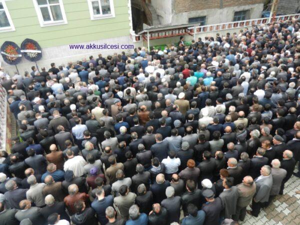 Ergüder EFİL'in Oğlu ve Kardeşinin Cenaze Merasimi Akkuş'ta Yapıldı
