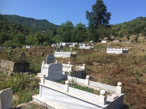 Sevkili Mezarlığı Temizlenmiş. Teşekkürler