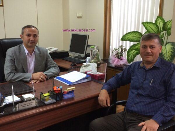 Hemşehrimiz Daire Başkanı İbrahim CÜREBAL'ı Ziyaret Ettik
