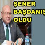 İhsan Şener Cumhurbaşkanlığı Başdanışmanlığı görevine getirildi.