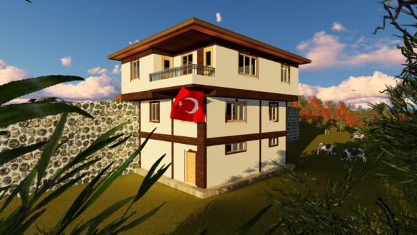 Şehit Evinin Ziyaretçileri Vali-Belediye Başkanları ve Kaymakam Oldu