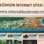 Ankara Akkuş Derneği İnternet Sitesi Açıldı