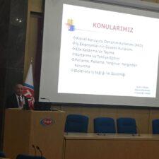TRT Personeli İş Güvenliği Eğitimini Şefik CÜREBAL'dan Alıyor