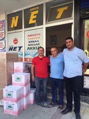 İstanbul Akkuş Derneğinden Ortabölme'ye Yardım Kolileri Gönderildi