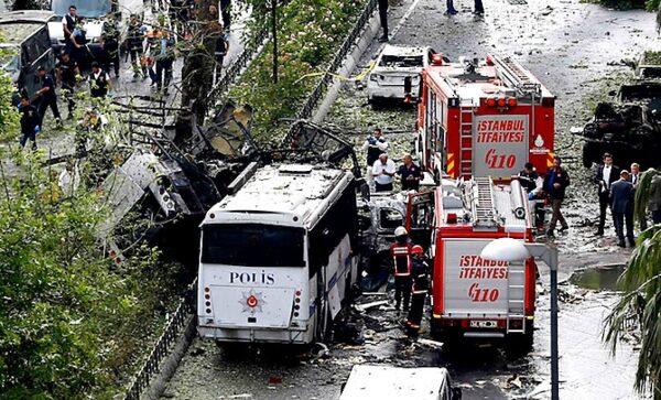 İstanbul Veznecilerdeki Saldırıyı Kınıyoruz!!!