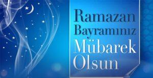 Ramazan Bayramınızı Tebrik Ediyoruz