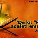 YERYÜZÜNÜN ADALET BEKÇİLERİ(2)
