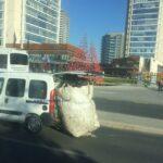 Ankara'da Bagajda Yük Böyle Taşınıyor