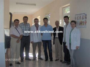 10 Yıl Önce Salman Sağlık Ocağında Çekilen Fotoğraf