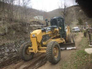 Akkuş Belediyesi Çukurköy Yollarının Bakımını Yaptı. Teşekkürler