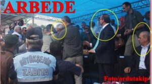 Ordu'da Bakanın Gözü önünde Arbede Ayıp Değil mi?