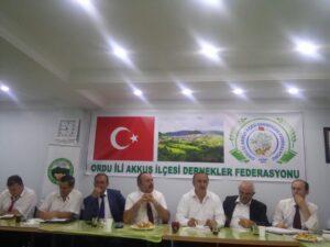 Akkuş Dernekler Federasyonu (AKDEF) Kamuoyu Duyurusu