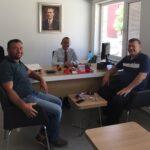 Akkuş Ziraat Bankasına Ankara-Düzce'den Ziyaret