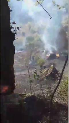 Çukurköy Mahalledeki Yangın Kontrol Altına Alındı