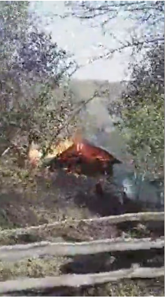 Yangından Görüntüler Çukurköy Cingili'de Yangın Devam Ediyor