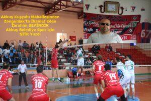İbrahim SEVİNDİK'ten Akkuş Spora  Şiir