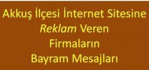 Sitemizde Reklamı Yayınlanan Firmaların Ramazan Bayramı Mesajları