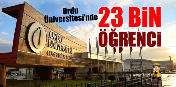 11 Sene Önceki Haberimizde Ordu Üniversitesi Açılışı