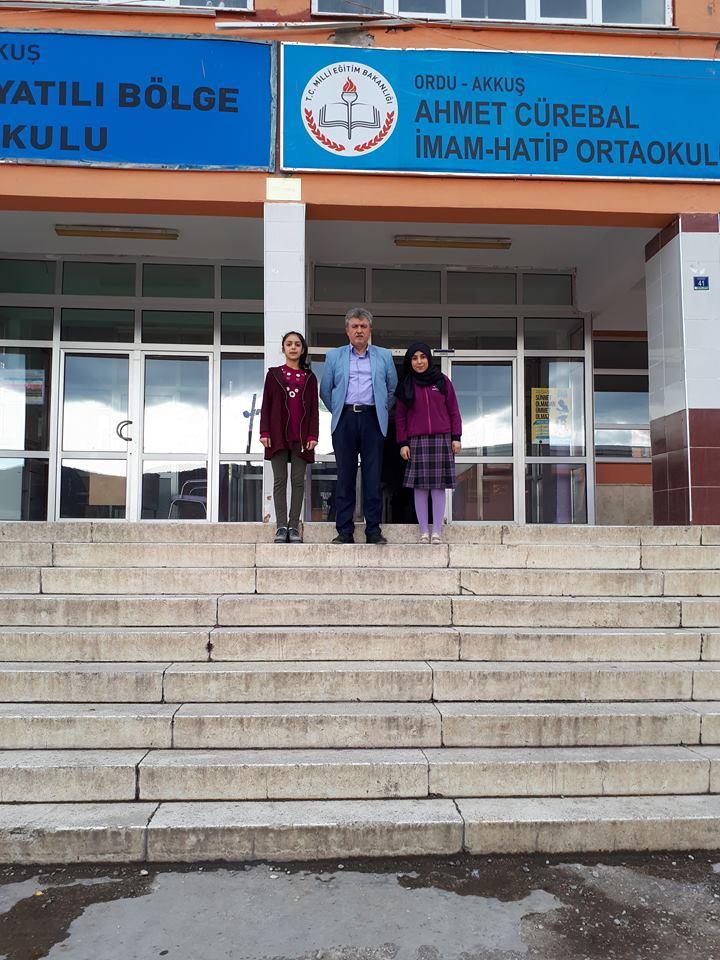KÜÇÜK YÜREKLERDEN BÜYÜK YARDIMLAR Akkuş İMKB Yatılı Bölge Ortaokulu ve Ahmet CÜREBAL İmam Hatip Ortaokulu'nun küçük öğrencilerinden büyük yardım