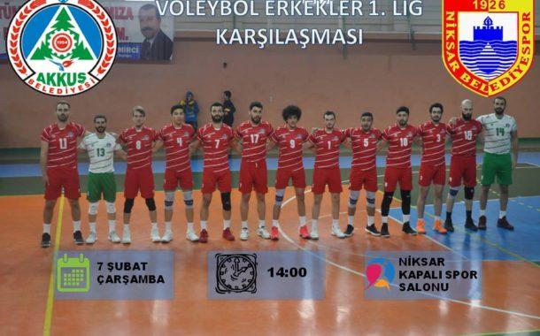 Akkuş Spor Niksar Spor ile 07.02.2018 Çarşamba Saat 14.00'de Niksar'da Oynayacak. Haydi Akkuşlular Maça