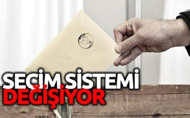Seçimlerin Temel Hükümleri ve Seçmen Kütükleri Hakkındaki Kanununda Yapılan Değişiklik