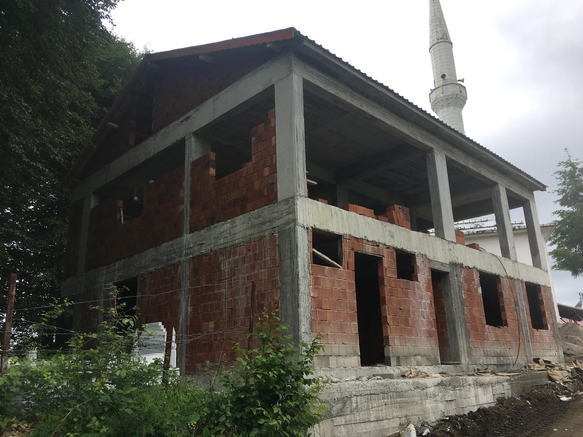 Çukurköy Mahallesi Aş Evi İnşaatının Son Hali. İnşallah Bu Sene Hizmete Girecek. Çukurköy Neler Yapıldı? Neler Yapılacak?