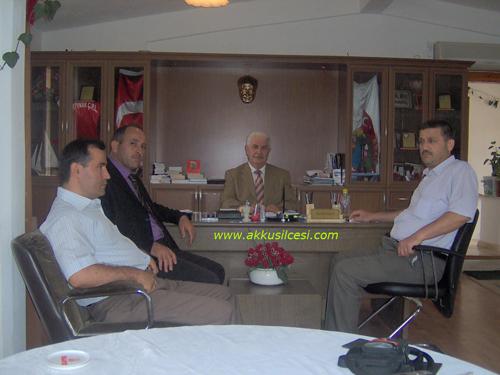 10 Sene Önce 2008 Yılı Ağustos Ayında Akpınar (Kuzköy) Belediye Başkanı Fikri ÇAMOĞLU'nu Ziyaret Ettik.