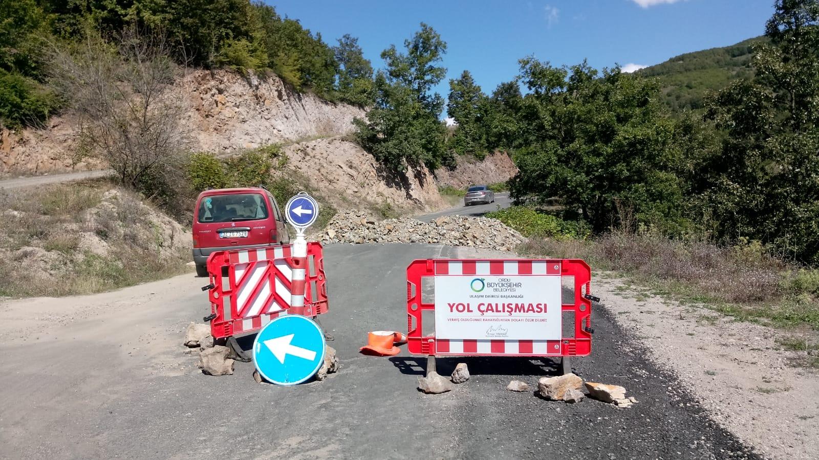 17.08.2018 Saat 15.00 İtibariyle Akkuş-Çaldere-Kadıköprüsü (Dereyolu) Asfaltlı Yol Çalışmasından Görüntüler. Yolun Bayramda Açılıp Açılmayacağını Açıklıyoruz.