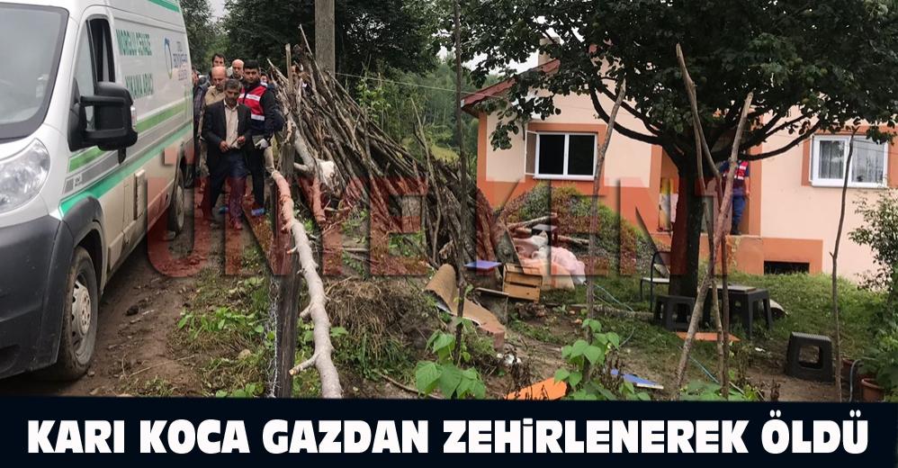 Akkuş Karaçal Mahallesi Karaağaç Tepesi'nden Senayi (54) ve eşi Ümit Türedi'den (52) mutfak tüpünden sızan gaz sonucu zehirlenerek hayatlarını kaybettiler.