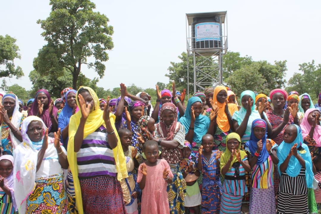 Ticaret Bakanlığı Camii Cemaati, Bakanlık Personeli ve Diyanet Vakfının Katkıları İle Afrika'da Su Kuyusu Açılarak Hizmete Girdi.