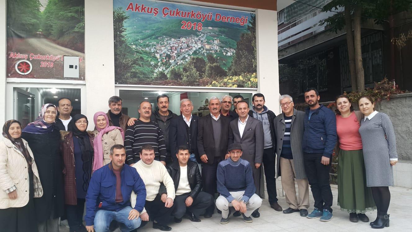 Akkuş Belediye Başkan Adayı Bayram GÖRÜR  Ankara'da Akkuş derneğini, köy derneklerini ve sivil toplum kuruluşlarını ziyaret ederek hemşehrileri ile seçim konularında istişarelerde bulunmuştur.