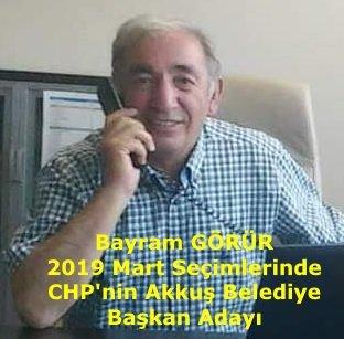 CHP Akkuş Belediye Başkan Adayını Belirledi. BAYRAM GÖRÜR