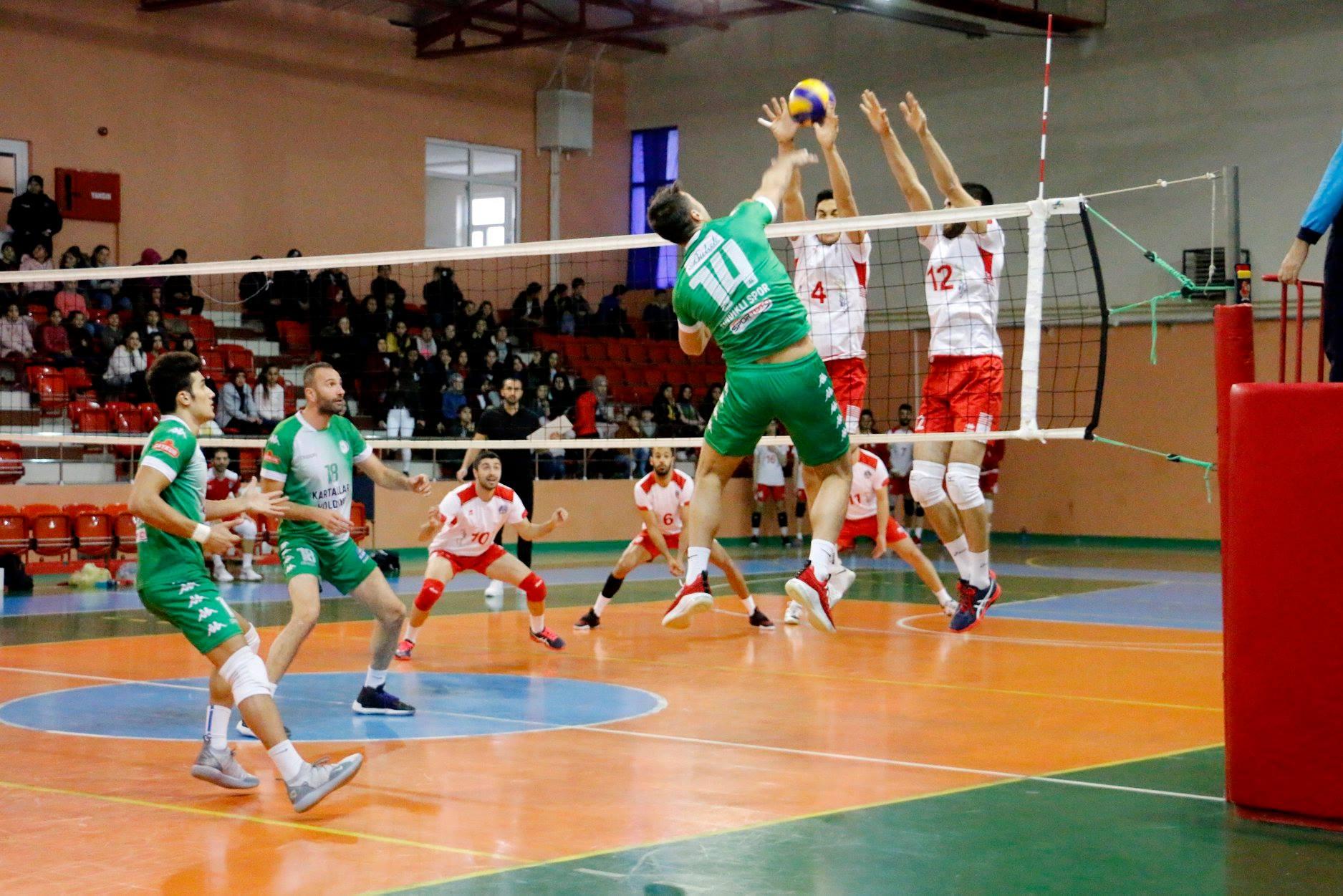 Akkuş Belediyespor - Solhan Spor Karşılaşıyor 1 Aralık 2018 Cumartesi Saat 14.00 Solhan Spor Salonu Bingöl