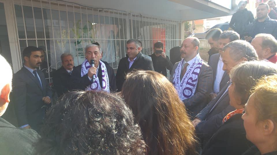 CHP Akkuş Belediye Başkan Adayı Bayram GÖRÜR Sivil Toplum Örgütleri İle Görüşmelerine Devam Ediyor. Yolbaşı Köyü Derneğinin Açılışına Katılarak İstişarelerde Bulundu