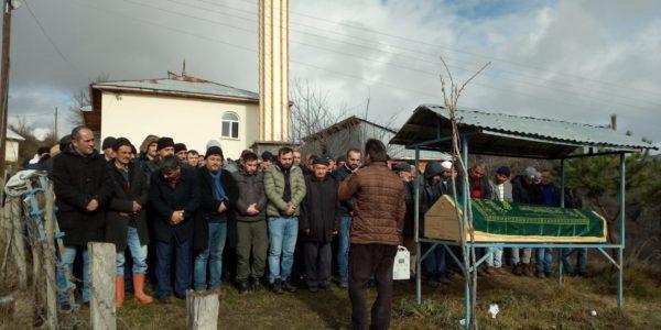 Ormancık mahallesinde Ahmet YILDIRIM'ın cenaze merasiminden görüntüler