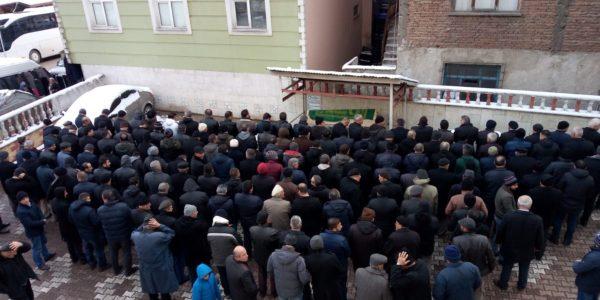 Çukurköy Çavuşgil Semtinden Sedat SEVİNDİK'in Cenaze Merasiminden Görüntüler