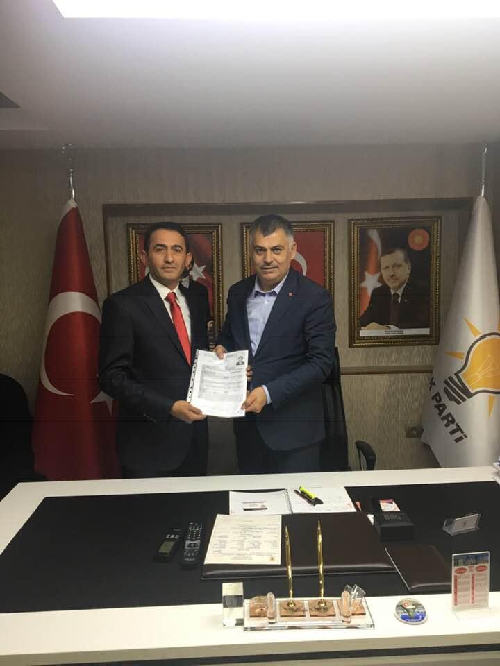 Akkuşlu Hemşehrimiz Dursun ÇAM Ankara İli Çankaya Belediyesi Meclis Üyeliğine Müracaatını Yaptı