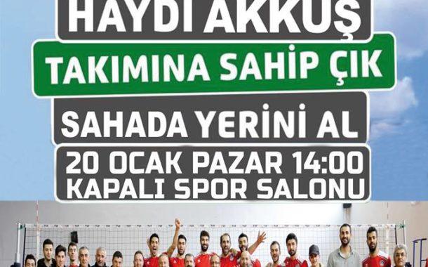 Akkuş Belediye Spor Kendi Evinde Malatya Büyükşehir Spor İle Karşılaşıyor. Akkuş Kapalı Spor Salonuna Akkuş İlçe Sınırları İçinde Yaşayan ve Maça Gelmek İsteyen Herkes Davetlidir.
