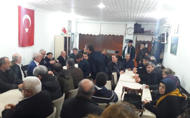CHP Akkuş Belediye Başkan Adayı Bayram GÖRÜR Ankara Çukurköy Derneğinde Coşku İle Karşılandı. GÖRÜR Hemşehrilerine Seçim Çalışmaları Hakkında Bilgi Verdi