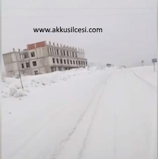 16.02.2019 Tarihinde Akkuş Devlet Hastanesi İnşaatının Son Hali