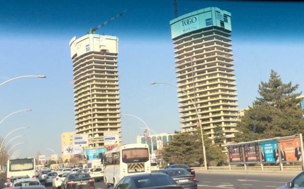 Ya Cumhurbaşkanı Anlatamıyor. Ya Birilerine Göz Yumuluyor. Yada Bu Yatay Yapı Ankara İçin Uygulanmıyor. Sanki İnadına Gibi 25 Kattan Fazla Yüksek Binalar Başkentte Yapılmaya Devam Ediliyor